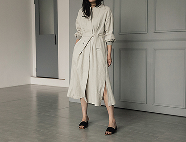 Linen JP long dress