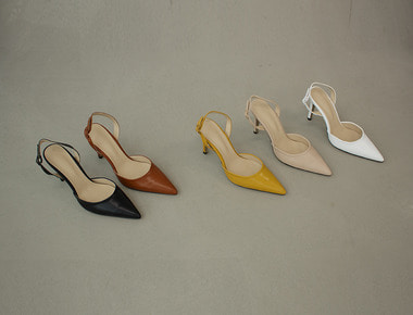 AT027 Color modern sling back