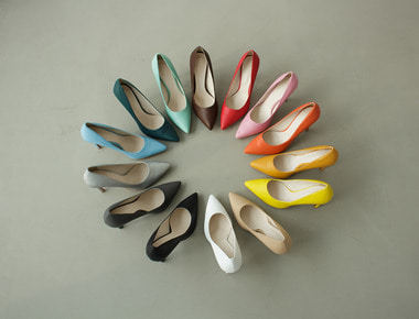D1017 Color stiletto heel