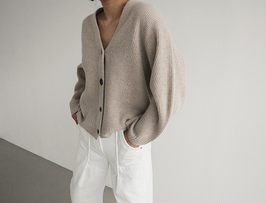 Cash short cardigan