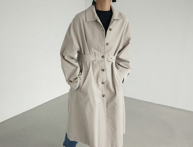 Wiwi trench coat