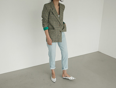 Loge check jacket
