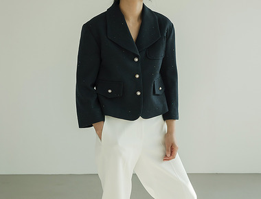 Color pearl jacket