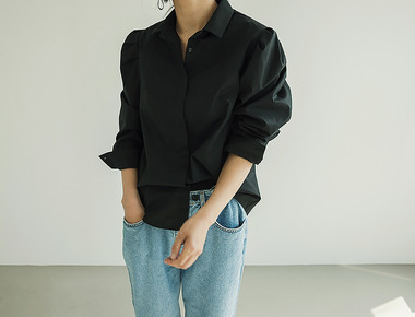 Puff simple blouse