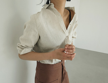 Linen simple shirts