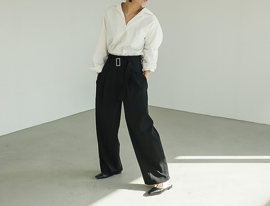 Esen belt pants