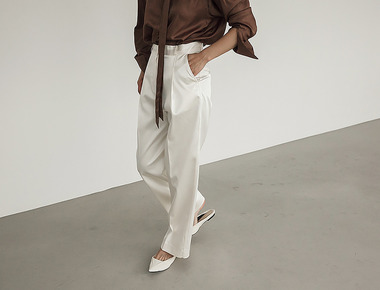 Jane satin pants
