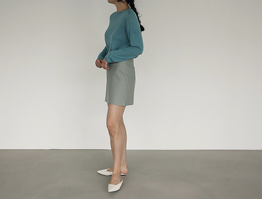 Lady pocket skirt