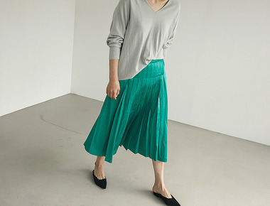 Chuky pleats skirt