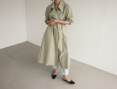 Lerme trench coat