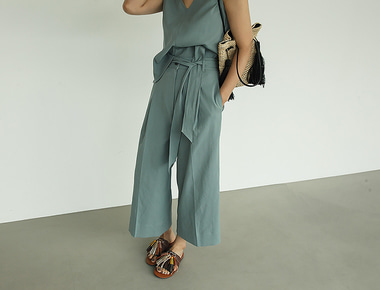 Dover wide pants