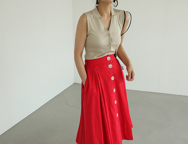 Forming flare skirt