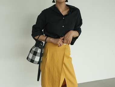 Basic clean linen shirts