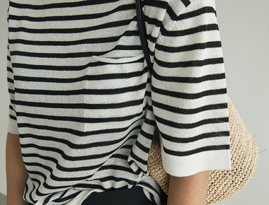 Verna stripe knit