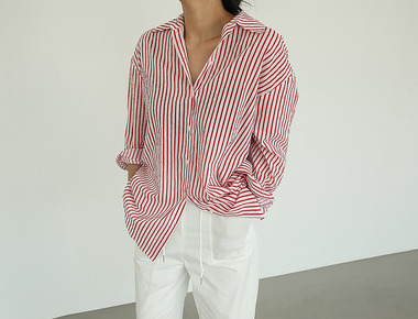 Stripe cotton shirts