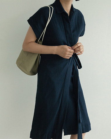 Compad wrap dress