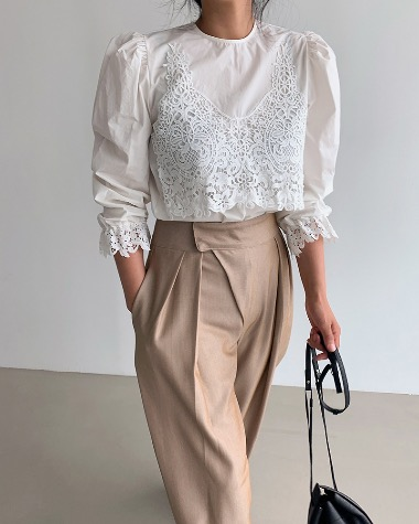 Victori lace blouse