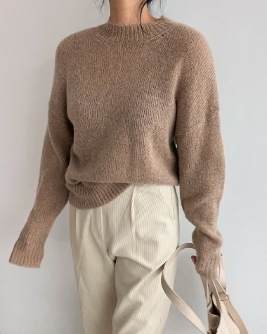 Anne mohair knit