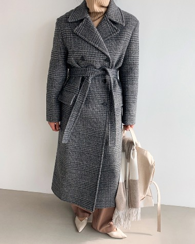 Sander double check coat