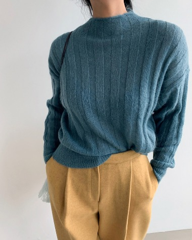 Loose color knit