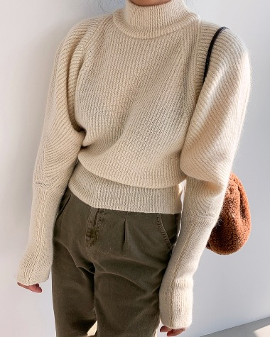 Kid dolman knit