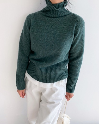 Cash crop high knit