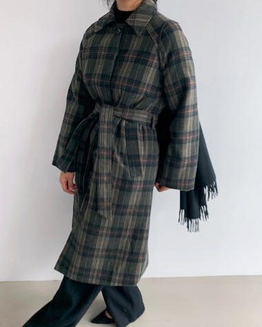 Day wool chack coat