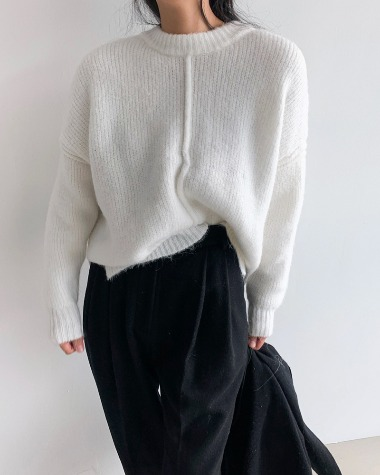 Cover line knit