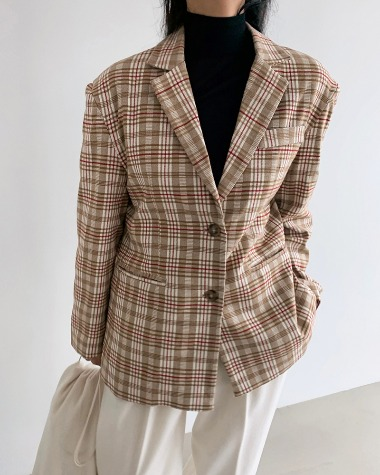 Ford check jacket